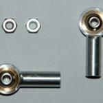 2x3mm aluminium ball links M3 hole